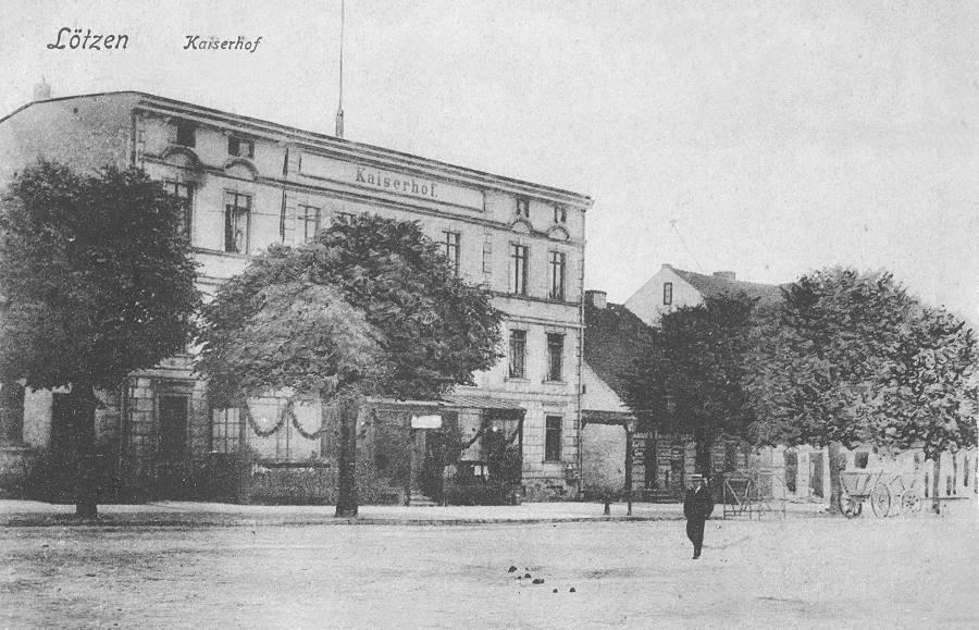 giżycko hotel historia
